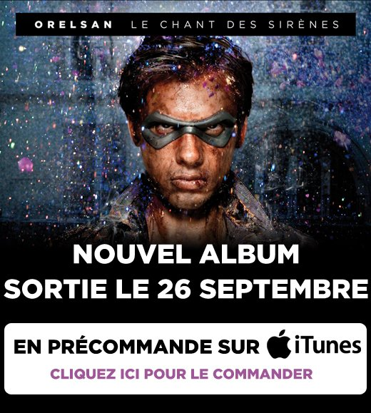 Prcommandez l'album sur iTunes!